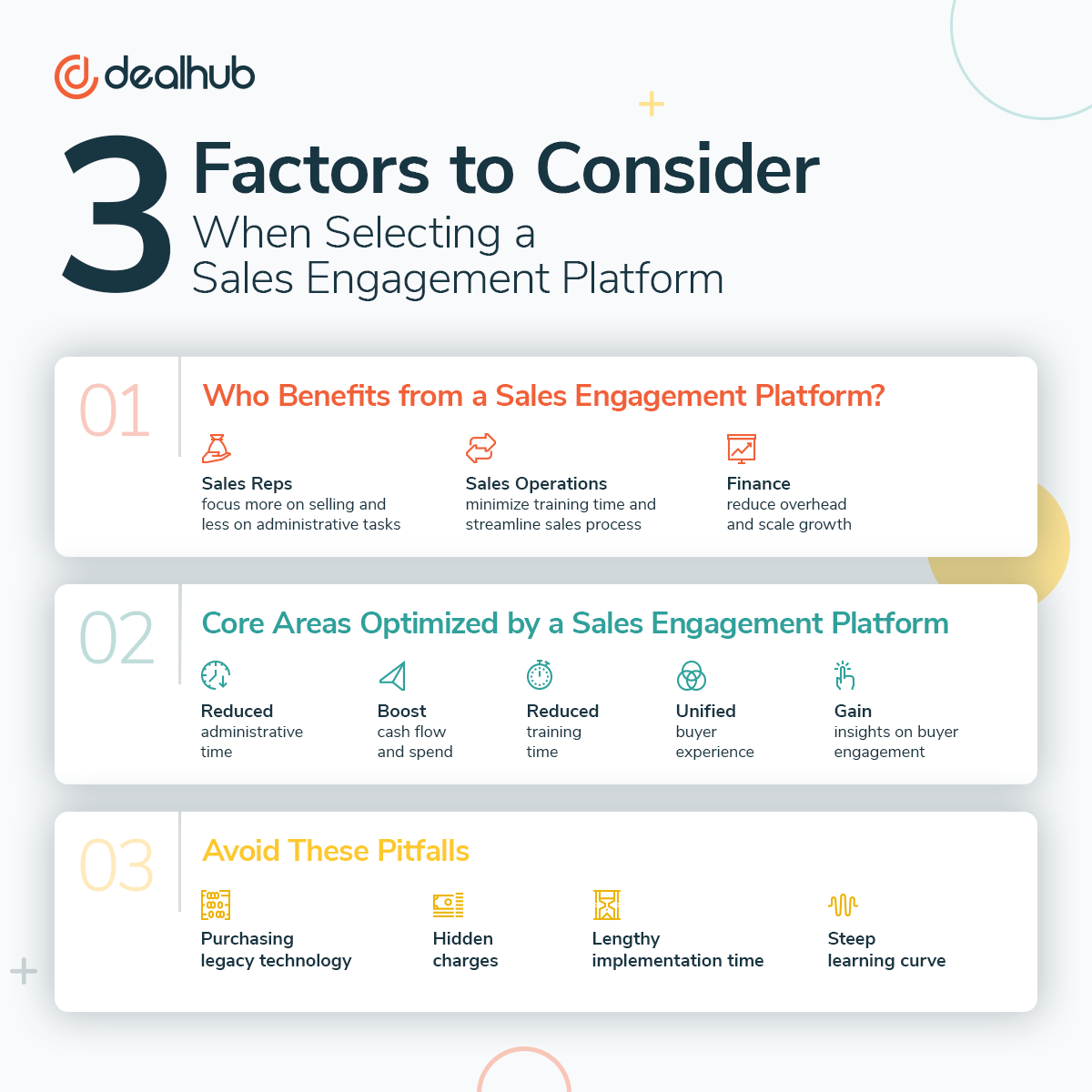 3 Factors to Consider - Selecting a Sales Engagement Platform