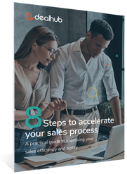8 steps to accelerate your sales process cover