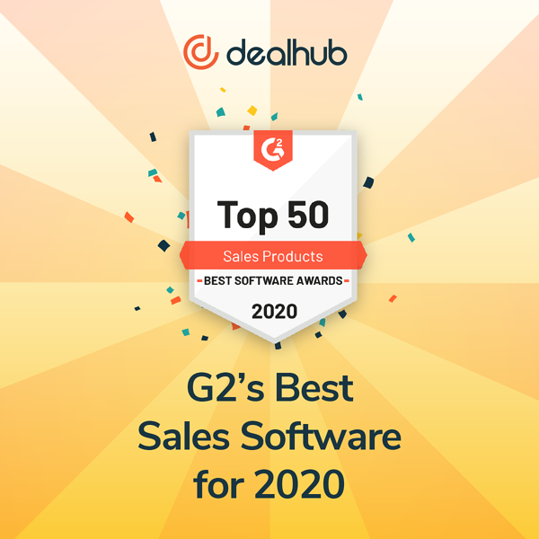 G2 Awards 50 Top Best Sales Software