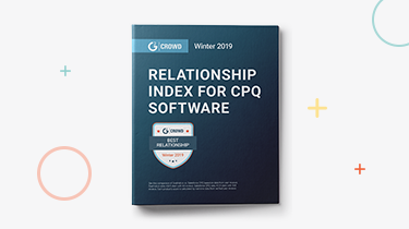G2 Crowd Relationship Index for CPQ