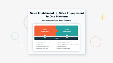 Sales Enablement + Sales Engagement infographic thumbnail